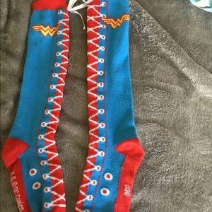 Wonder Woman Knee High Sock